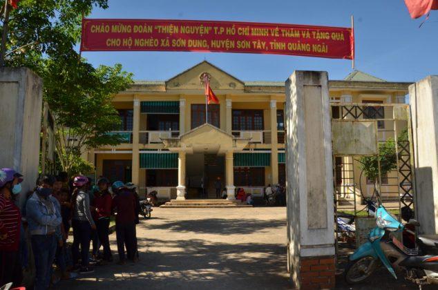 Uỷ Ban Huyện Sơn Tây, Quảng Ngãi